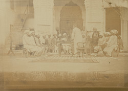 Hindi class in the Government Normal School, Lucknow